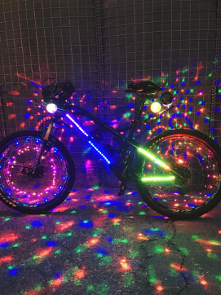First MYCYradio bike picture